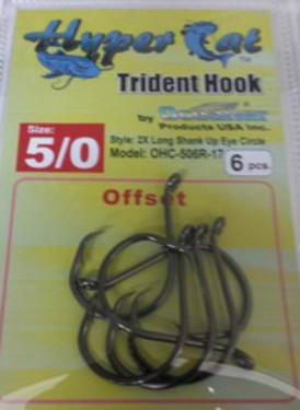 5/0 Offset Circle Hook 6pcs